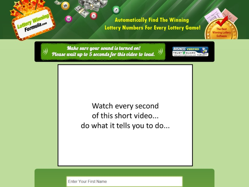 Best Betting Products » LOTTERY WINNING FORMULA