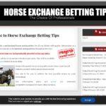 HORSE EXCHANGE BETTING TIPS