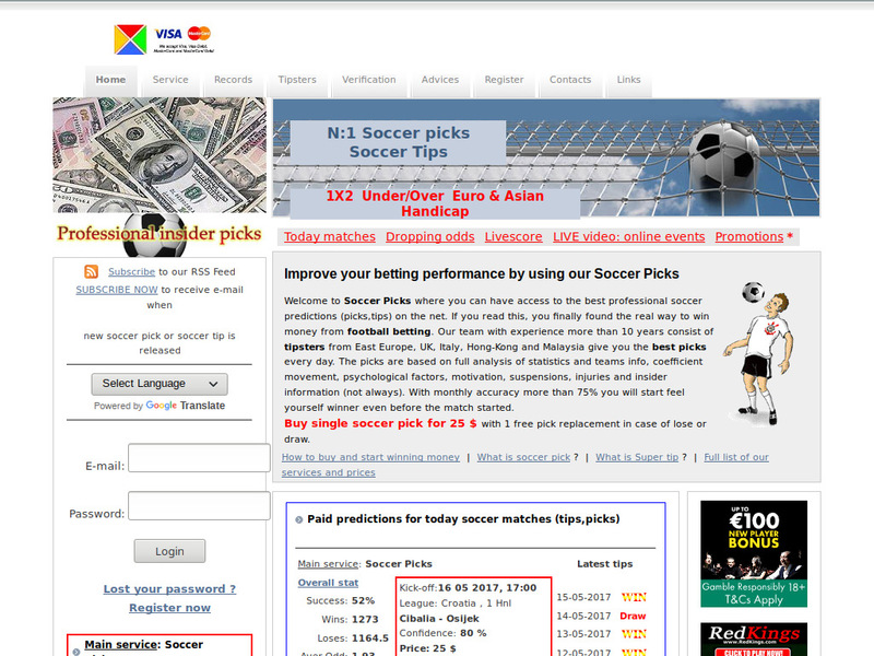Best Betting Products » Tipsters Win
