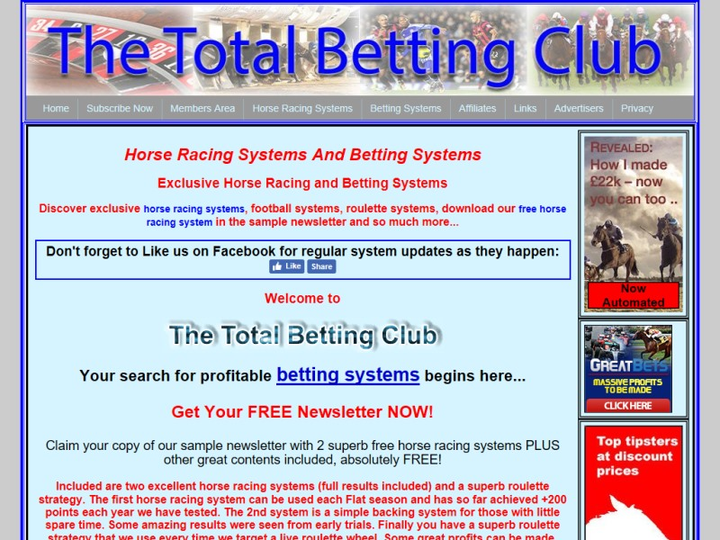 Best betting products laying systems total betting club backing sytems horse racing laying systems publicscrutiny Gallery